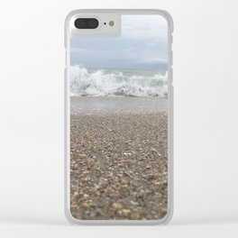 Wash Me Away Clear iPhone Case