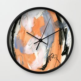 Velvet and Lace Wall Clock