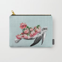 Sea turtle Art Print Carry-All Pouch