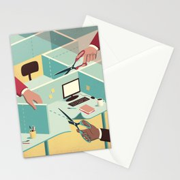 Tailor-made workspace Stationery Cards