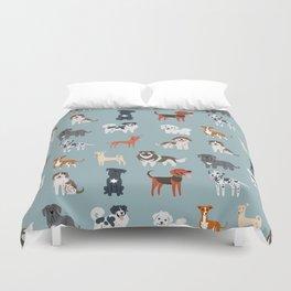 MEDITERRANEAN DOGS Duvet Cover