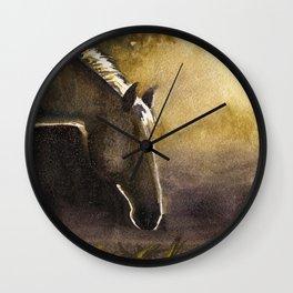Teeka in Sunrise Wall Clock