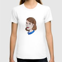 peggy carter T-shirts featuring Watercolour Peggy Carter by HayPaige