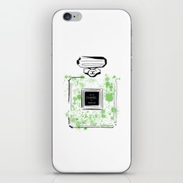 Green Perfume 2 iPhone Skin
