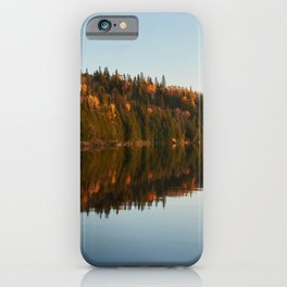 Lake in Mauricie, Canada iPhone Case