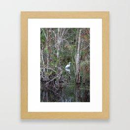 Privacy Please Framed Art Print