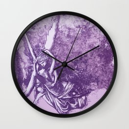 Cupid and Psyche Wall Clock