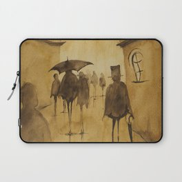 People walked this way Laptop Sleeve