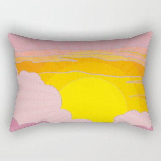 Sunrise Surprise Rectangular Pillow