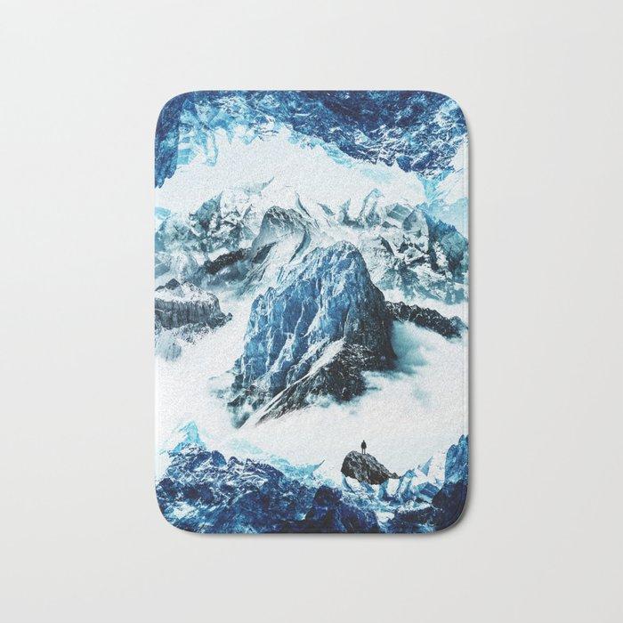 Frozen isolation Bath Mat