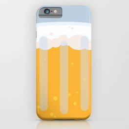 Cheers - Light Blue & Gold iPhone Case