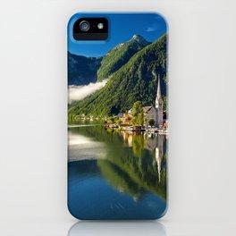 Hallstatt Austia iPhone Case
