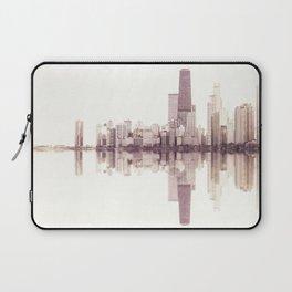 Chicago Skyline - Soundwave Art Laptop Sleeve