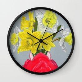 Narcissuses Wall Clock