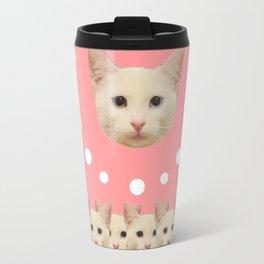 Pink Haruka by ilya konyukhov (c) Travel Mug