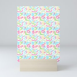 26 Graffiti Scribbles Mini Art Print