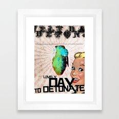 LOVELY DAY... Framed Art Print