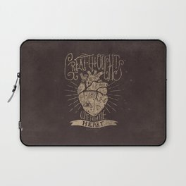 Great Thoughts Laptop Sleeve