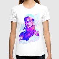 blade runner T-shirts featuring RICK DECKARD // BLADE RUNNER by mergedvisible