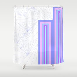 Pattern Number One Shower Curtain