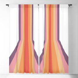 Rebirth Of The 70's No. 124 Blackout Curtain