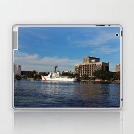 City Across The River Laptop & iPad Skin