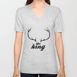 The King Unisex V-Neck
