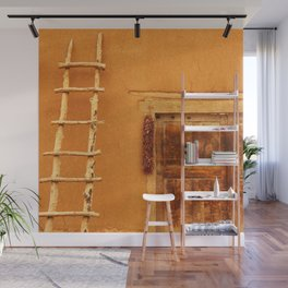 Adobe With Ladder And Ristra - Iconic Southwest Wall Mural