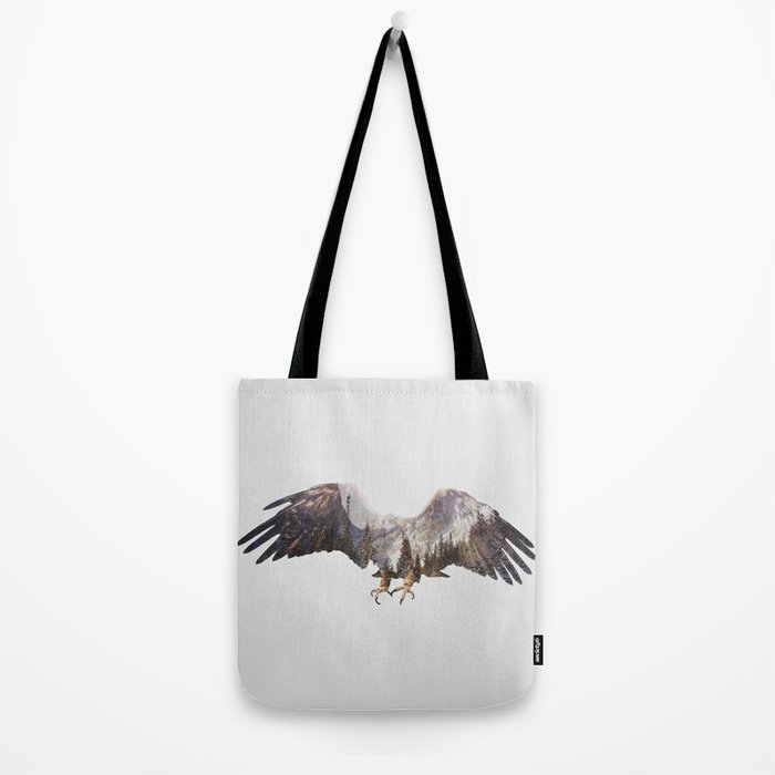 Arctic Eagle Tote Bag