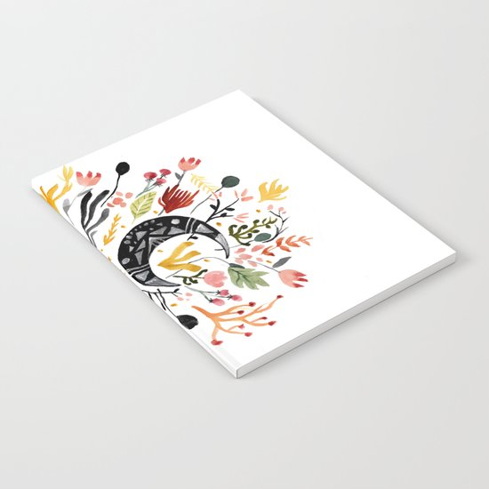 Moon Garden Notebook