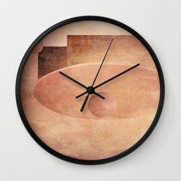 Softly She Fled Wall Clock