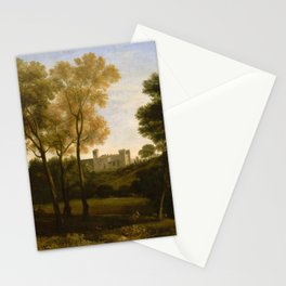 View of La Crescenza,1648–50 Stationery Cards