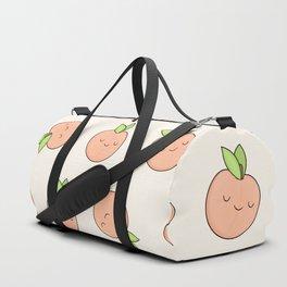 Happy Peach Duffle Bag