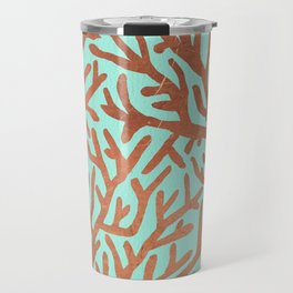 Copper Coral Travel Mug