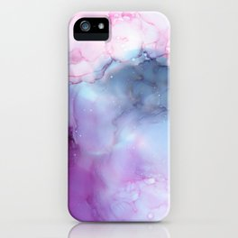 Dreamy storm clouds iPhone Case