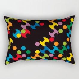 DOTS - polka 2 Rectangular Pillow