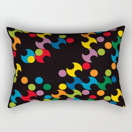 DOTS - polka 2 Rectangular Pillow