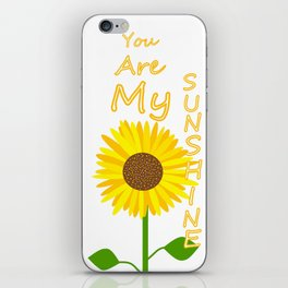 You Light Up My Day iPhone Skin