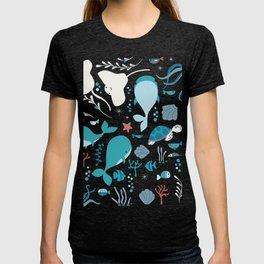 Sea creatures 004 T-shirt
