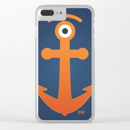 anchored glance Clear iPhone Case