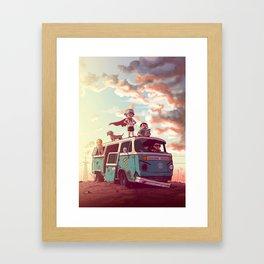Scavengers Framed Art Print