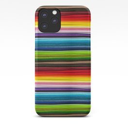 Indian Summer Colors Stripe iPhone Case