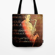 Pure Sax Tote Bag