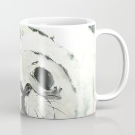 White Seal Coffee Mug