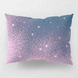 Lilac Nebula (8bit) Pillow Sham
