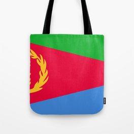 Eritrea Flag Tote Bag