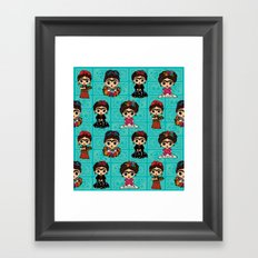 Little Fridas Framed Art Print
