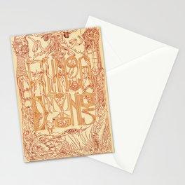 A Língua dos Demônios Stationery Cards