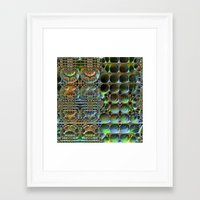 honeycomb Framed Art Prints featuring Honeycomb by Lyle Hatch
