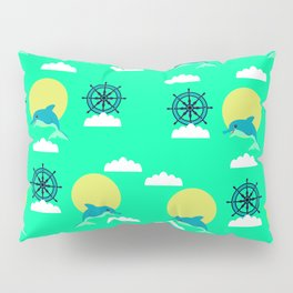 Dolphins play Pillow Sham
